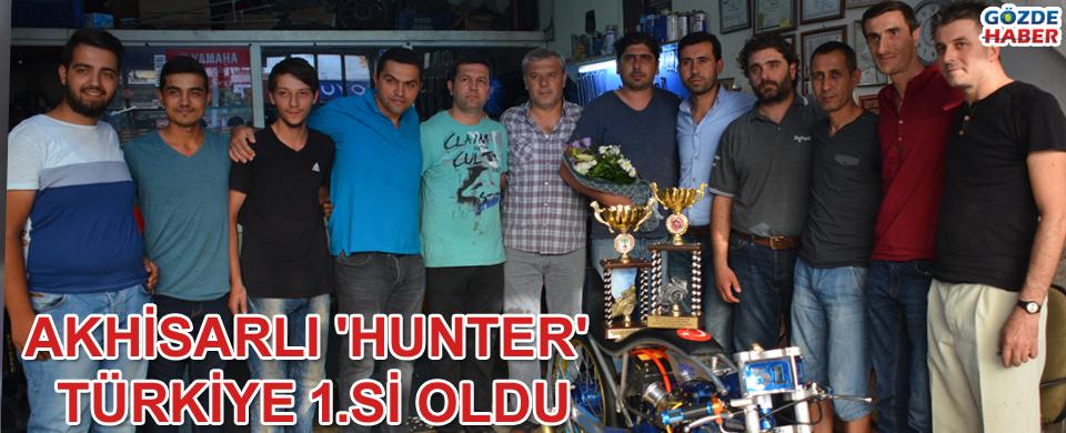 Akhisarlı Hunter Türkiye 1.si oldu