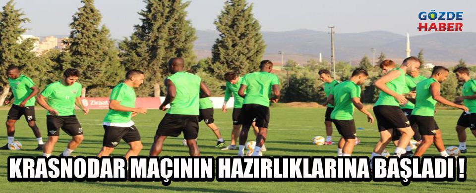 Akhisarspor, Krasnodar maçının hazırlıkları başladı