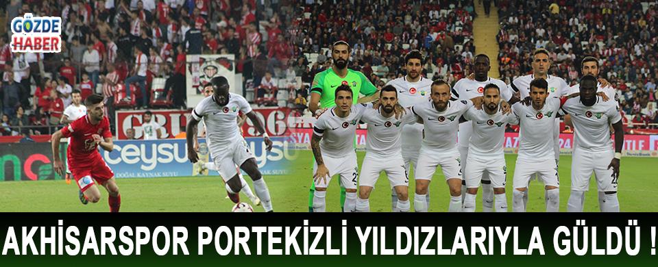 Akhisarspor Portekizli Yıldızlarıyla Güldü !
