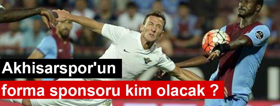 Akhisarspor'un forma sponsoru kim olacak ?
