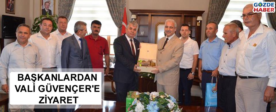 Başkanlar'dan Vali Güvençer'e ziyaret