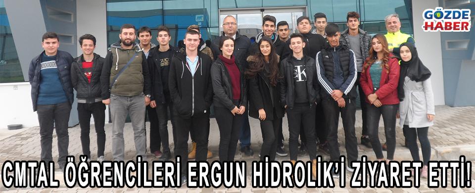 CMTAL ÖĞRENCİLERİ ERGUN HİDROLİK'İ ZİYARET ETTİ!
