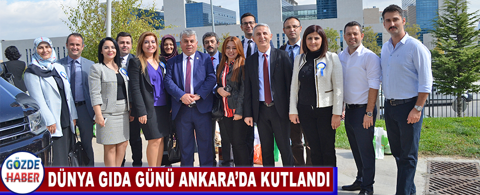 Dünya Gıda Günü Ankara'da Kutlandı