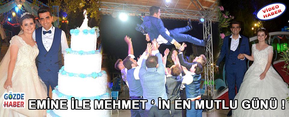 Emine İle Mehmet ' in En Mutlu Günü