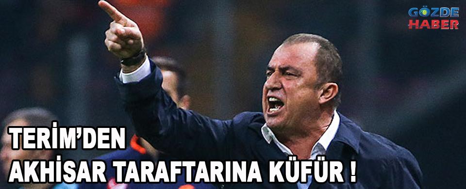 Fatih Terim 3-0'ın acısını Akhisar Taraftarından çıkardı !