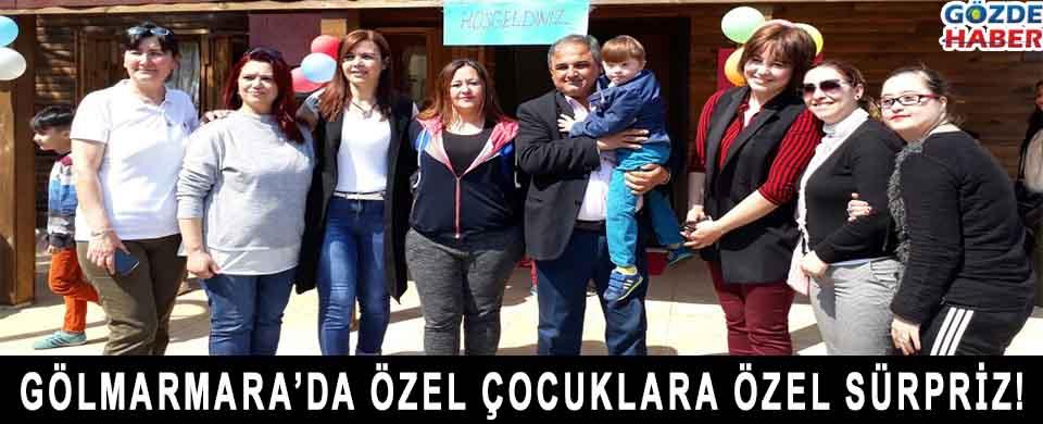 Gölmarmara'da Özel Çocuklara Özel Sürpriz !