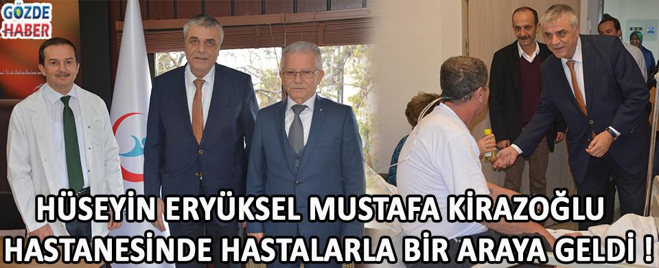 Hüseyin Eryüksel Mustafa Kirazoğlu Devlet Hastanesinde Hastalarla Bir Araya Geldi !