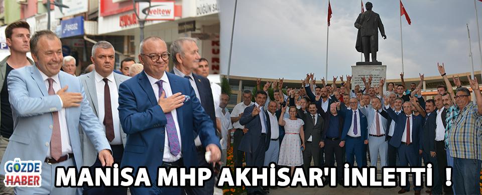 Manisa MHP Akhisar'ı İnletti  !