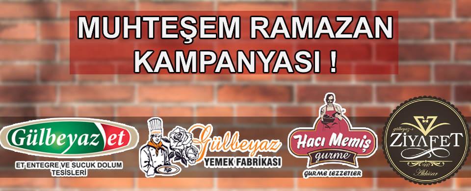 Akhisar'ın tercihi Hacı Memiş Gurme'den Muhteşem Ramazan kampanyası