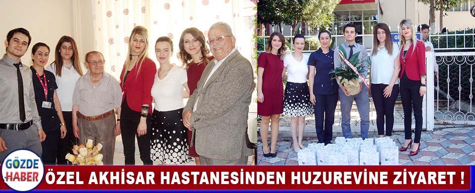 Özel Akhisar Hastanesi Huzurevini Ziyaret Etti !