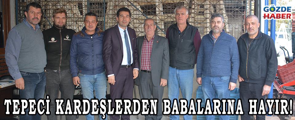 TEPECİ KARDEŞLERDEN BABALARINA HAYIR!
