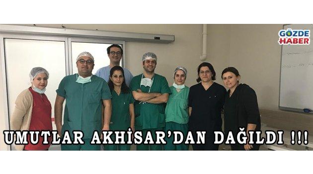 Umutlar Akhisar'dan Dağıldı !!!