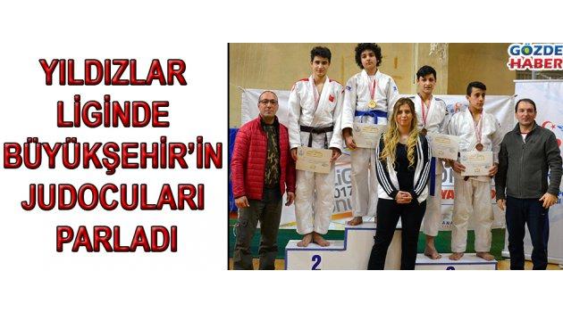 Yıldızlar Liginde Büyükşehir'in Judocuları Parladı